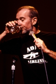 Stand-up comedy => George Carlin begins Rehab