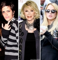 Stand up Comedy: Joan Rivers attacked on Twitter by Lindsay Lohan's ex girlfriend