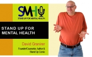 "Stand up Comedy: David Granirer presents ""Stand Up For Mental Health"" program this Friday"