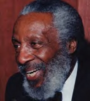 Stand-up comedy => Dick Gregory – Q & A Session at Fundraiser!