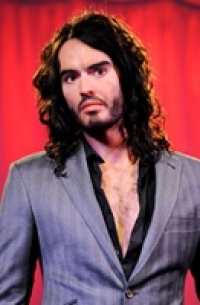 Stand up Comedy: Russell Brand got waxed for London's Madame Tussauds