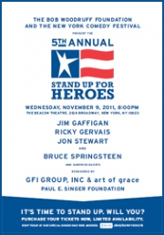 Stand up Comedy: Stand Up for Heroes Benefit Gathers Top Comedians