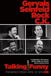 "Stand up Comedy: HBO ""Talking Funny"" with Gervais, Seinfeld, Louis C.K. and Chris Rock"