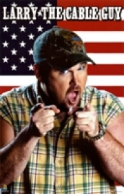 Stand-up comedy => Larry the Cable Guy among attractions at golf charity  event