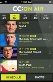 Stand up comedy Video Comedy Central released iOS app with thousands of stand-up routine videos