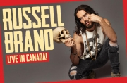 Stand-up comedy => Russell Brand tours in Canada this summer