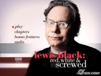 Stand up Comedy: Lewis Black: Red White and Screwed Video
