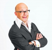 Stand-up comedy => Harry Hill