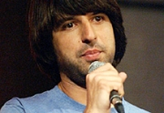 Stand-up comedy => Demetri Martin Performs at the Syracuse University