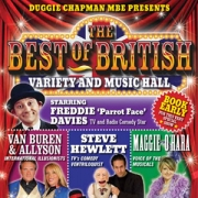 "Stand-up comedy => Parrot Face - Freddie Davies will perform at ""Best of British"" variety show"