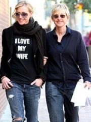 Stand-up comedy => Portia de Rossi to become Portia DeGeneres!Proposition 8 overturned!