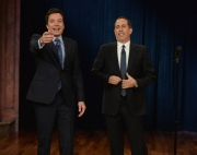 "Stand up Comedy: Jerry Seinfeld stand-up on ""Late Night with Jimmy Fallon"""