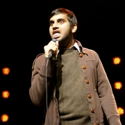 Stand up comedy Video Aziz Ansari: Harassing Harris on Facebook Routine