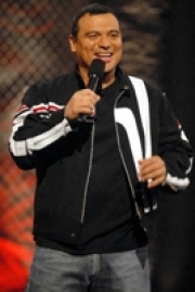 Stand-up comedy => Carlos Mencia returns to the Comic Strip