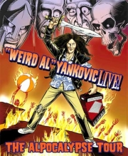 Stand up Comedy: Weird Al's Apocalypse Tour Airing on October 1!