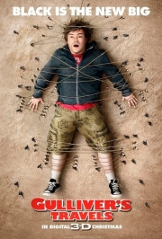 Stand-up comedy => Jack black is the New Big in Guliver's Travel - comedy movie 3D
