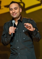 Stand-up comedy => Russell Peters in Source Code!