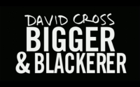Stand up Comedy: David Cross - Bigger and Blackerer video
