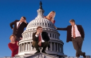 Stand-up comedy => Capitol Steps Give Young Performers a Chance to Stand-up!