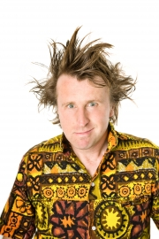 Stand-up comedy => Milton Jones stops in Croydon for comedy tour show. Now he talks about about life and career
