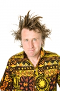 Milton Jones stops in Croydon for comedy tour show. Now he talks about about life and career